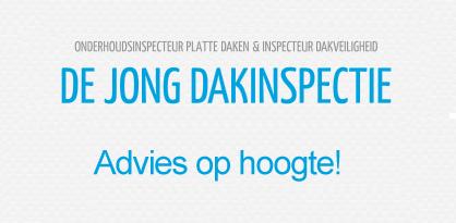 De Jong dakinspectie, advies op hoogte